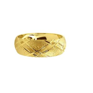 wedding band ring №210 yellow