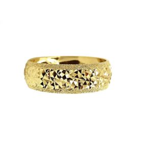 wedding band ring №211 yellow