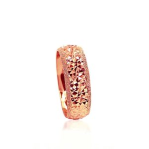 wedding band ring №211 rose