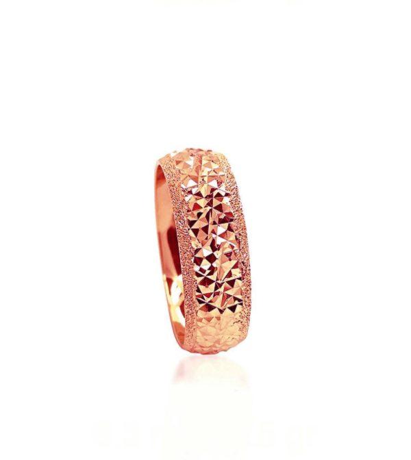 wedding band ring №211 rose