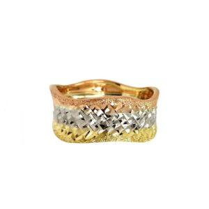three colors wedding ring №300