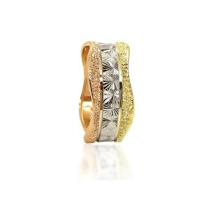 three colors wedding ring №306