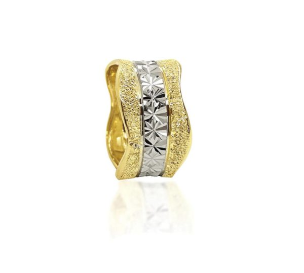 two colors wedding ring №401