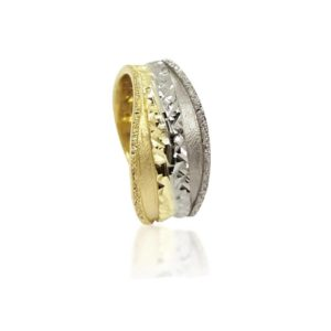 two colors wedding ring №404