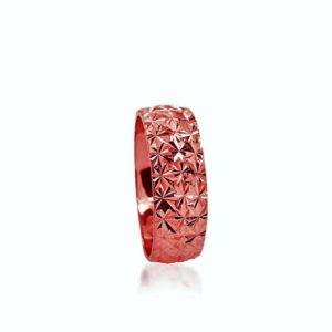 wedding band ring №205 rose