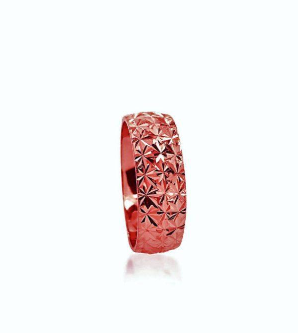 wedding band ring №205 rose