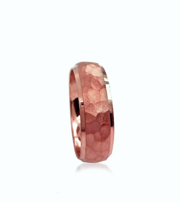 wedding band ring №206 rose