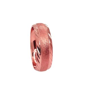 wedding band ring №208 rose