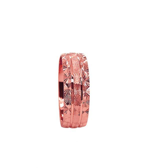 wedding band ring №209 rose