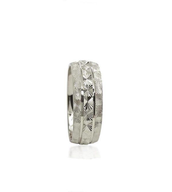 wedding band ring №212 white