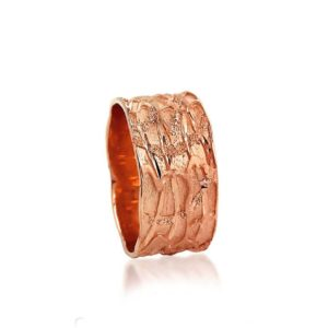 wedding band ring №300 rose