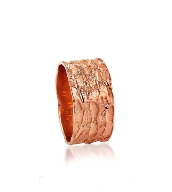 wedding band ring №300 rose