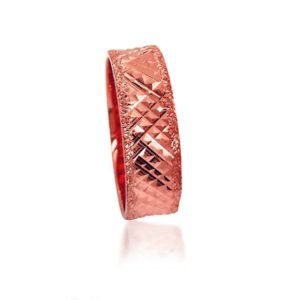 wedding band ring №302 rose