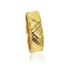 wedding band ring №302 yellow