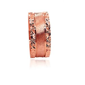 wedding band ring №303 rose