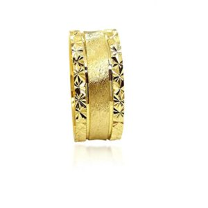 wedding band ring №303 yellow