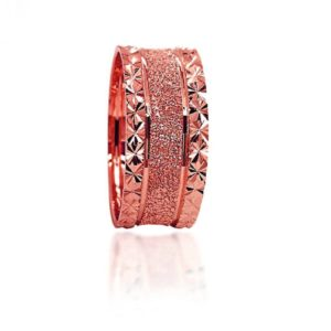 wedding band ring №304 rose