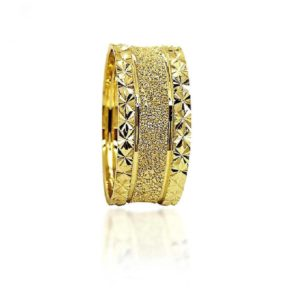 wedding band ring №304 yellow