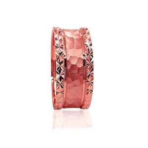 wedding band ring №305 rose
