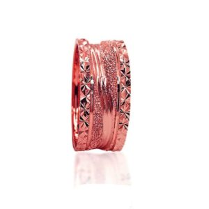 wedding band ring №306 rose