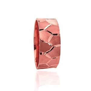 wedding band ring №307 rose