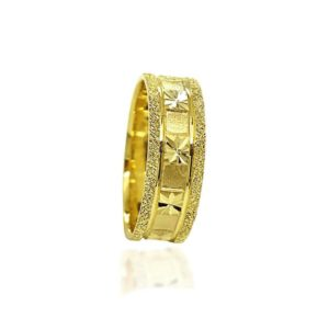 wedding band ring №308 yellow