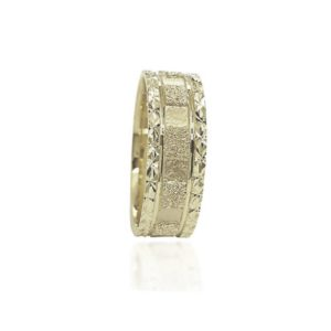 wedding band ring №309 white