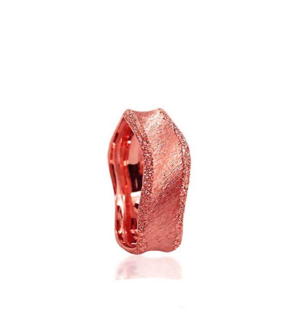 wedding band ring №310 rose