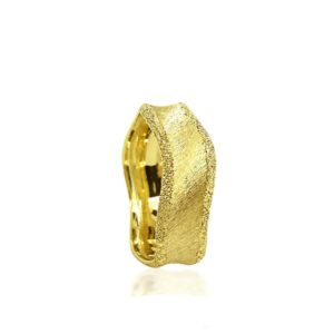 wedding band ring №310 yellow