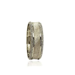 wedding band ring №311 white