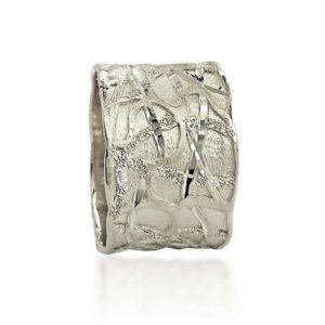 wedding band ring №400 white