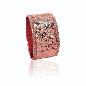wedding band ring №401 rose