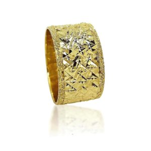 wedding band ring №401 yellow