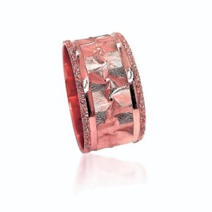 wedding band ring №403 rose