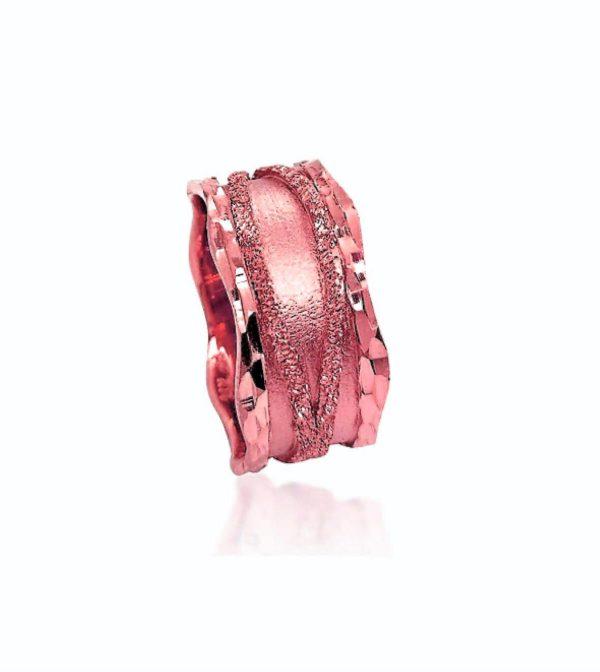 wedding band ring №408 rose