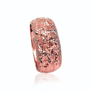 wedding band ring №409 rose