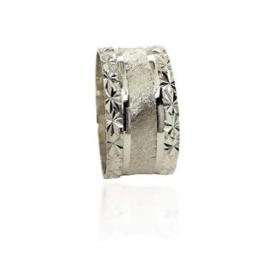 wedding band ring №411 white