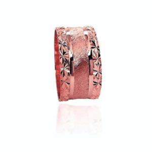 wedding band ring №411 rose