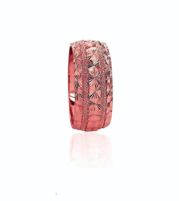 wedding band ring №412 rose