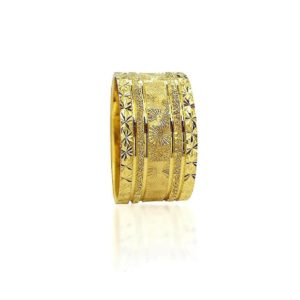 wedding band ring №414 yellow