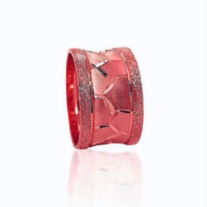 wedding band ring №416 rose