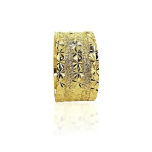wedding band ring №417 yellow