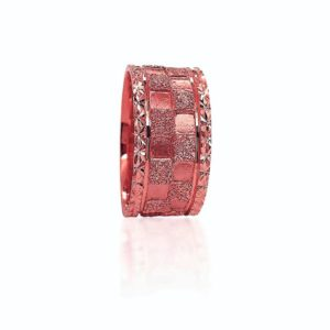 wedding band ring №418 rose