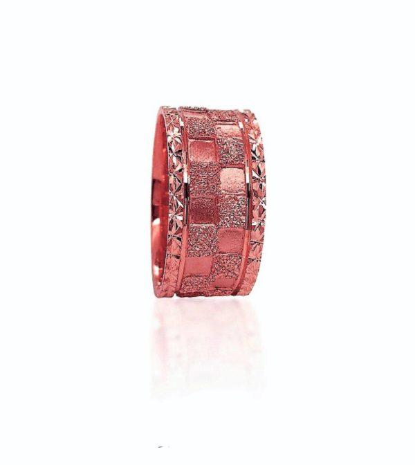 wedding band ring №418 rose