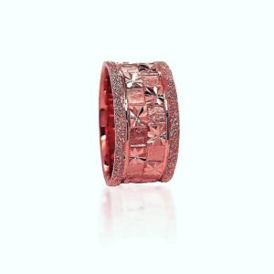 wedding band ring №419 rose