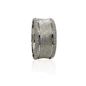 wedding band ring №420 white