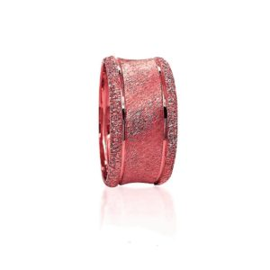 wedding band ring №420 rose