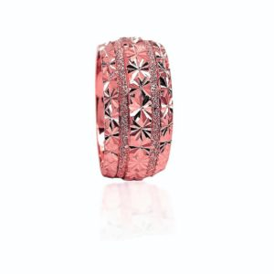 wedding band ring №422 rose