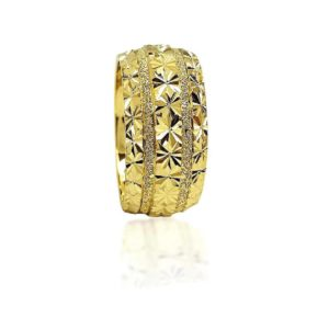 wedding band ring №422 yellow
