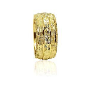 wedding band ring №423 yellow